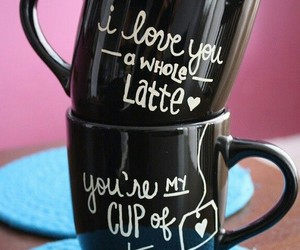cute, coffee, and cup image
