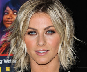 short hair and julianne hough image