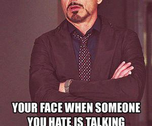 face, talking, and boring image