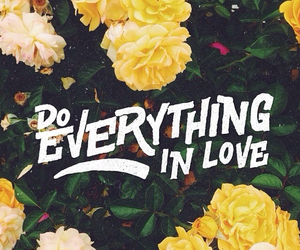 love, flowers, and everything image