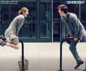 divergent, ansel elgort, and Shailene Woodley image
