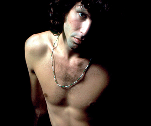 Jim Morrison, shirtless, and the doors image