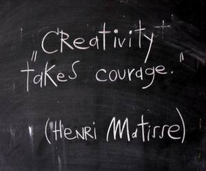 courage, creativity, and matisse image