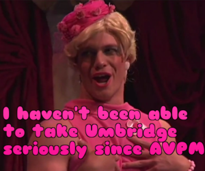 a very potter musical and umbridge image