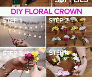 crown, pink, and tutorial image