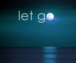 moon, let go, and quote image