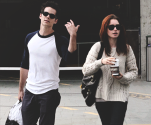 dylan o'brien and lily collins image