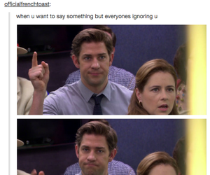 funny, the office, and tumblr image