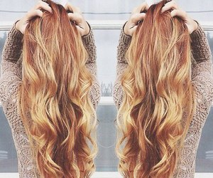 hair, long, and beauty image