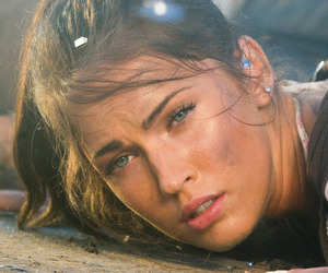 beauty, MeganFox, and transformers image