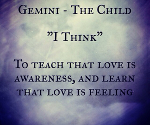 astrology, gemini, and sign image