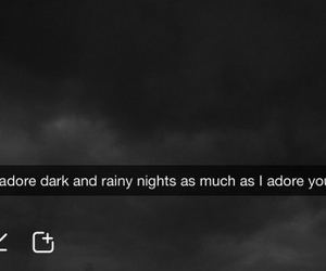 snapchat, dark, and quote image
