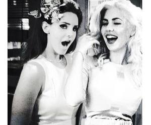 lana del rey, marina and the diamonds, and black and white image