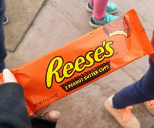 reese's, chocolate, and yum image