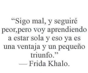 Frida Khalo and frases image