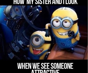 minions, despicable me, and haha funny image