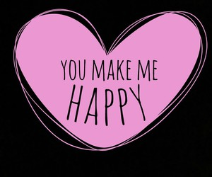 happy, iloveyou, and pink image