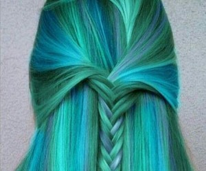 blue, fashion, and green image