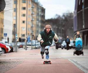 happiness, longboard, and skate image