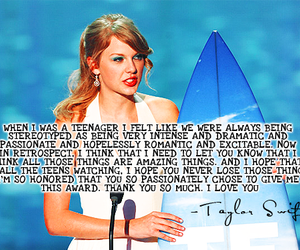 quote, Taylor Swift, and girl image