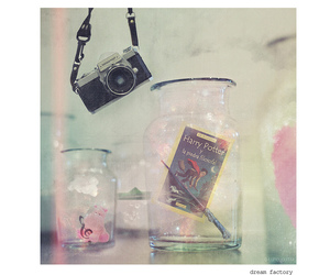 Dream, glass, and music image