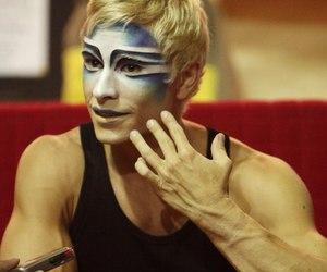 cirque du soleil and stage makeup image