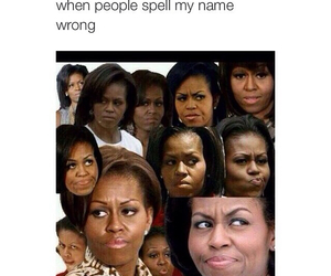 funny, michelle, and michelle obama image