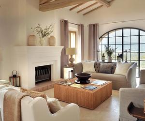 contemporary, interior design, and living room image