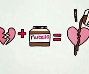 heart and nutella image
