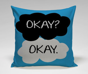 okay, pillow, and square image