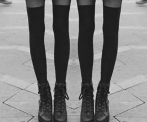 legs, girl, and skinny image