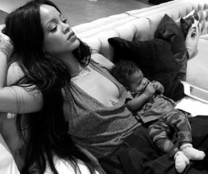 rihanna, baby, and riri image