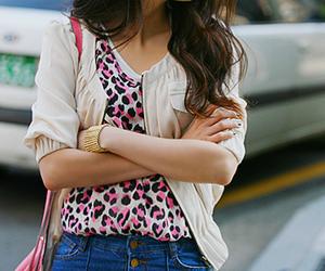 black, girl, and handbag image