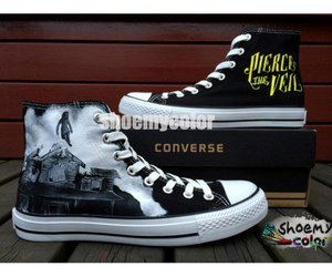 fashion shoes, creative gift, and converse shoes image