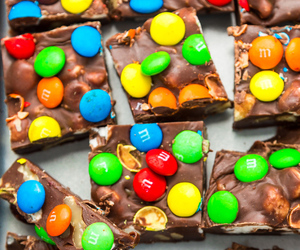 food and m&m's image