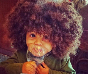 cute, baby, and hair image