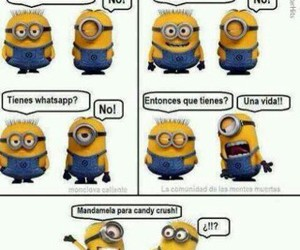 minions, funny, and facebook image