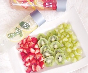 fruit, healthy, and voss image