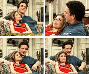 boy meets world, cory, and funny image