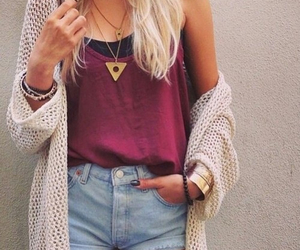 blond, fashion, and clothes image