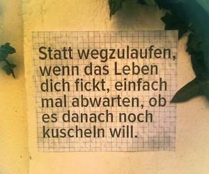 deutsch, spruch, and kuscheln image