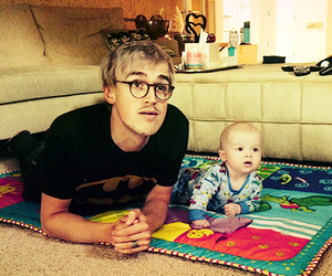 McFly, tom fletcher, and baby image