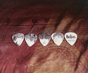 the beatles, beatles, and guitar image