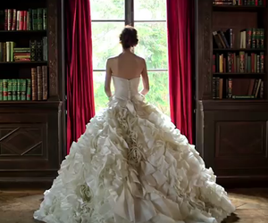 aspen, the one, and wedding dress image