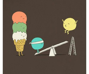 ice cream and funny image