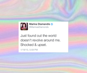 marina and the diamonds and tweet image
