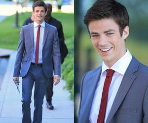 glee, the flash, and grant gustin image