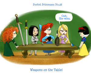 ariel, disney, and pocket princess image