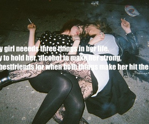 alcohol, drunk, and girls image