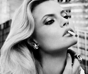 girl, Magdalena Frackowiak, and smoke image